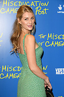 "Olivia Newman Young<br /> arriving for the premiere of ""The Miseducation of Cameron Post"" screening at Picturehouse Central, London<br /> <br /> ©Ash Knotek  D3424  22/08/2018"