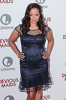 PACIFIC PALISADES, CA - JUNE 17: Judy Reyes attends the Lifetime original series 'Devious Maids' premiere party held at Bel-Air Bay Club on June 17, 2013 in Pacific Palisades, California. (Photo by Celebrity Monitor)