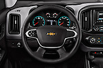 Car pictures of steering wheel view of a 2017 Chevrolet Colorado 2WD wt Extended Cab 3 Door Pick-up Steering Wheel