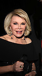 Joan Rivers (Another World) passes away on August 28, 2014 at age 81. In this photo she is one of the hosts of the American Foundation for Suicide Prevention (AFSP) 23rd Annual Lifesavers Dinner on May 11, 2011 at the Allen Room at the Time Warner Center, New York City, New York. (Photo by Sue Coflin/Max Photos - 917-647-8403)