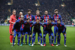 Barcelona team group before the Champions League match at Celtic Park, Glasgow. Picture Date: 23rd November 2016. Pic taken by Lynne Cameron/Sportimage