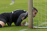 29.07.2017, Fritz Detmar Stadion, Lohne, GER, FSP SV Werder Bremen (GER) vs WestHam United (ENG), <br /> <br /> im Bild<br /> Jiri Pavlenka (Werder Bremen #1)<br /> <br /> schaut  ins Tor <br /> Gestik, Mimik,<br /> <br /> Foto &copy; nordphoto / Kokenge
