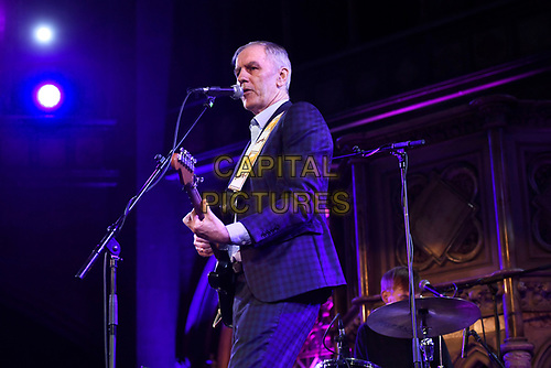 LONDON, ENGLAND - MAY 14: Robert Forster performing at Union Chapel on May 14, 2019 in London, England.<br /> CAP/MAR<br /> ©MAR/Capital Pictures