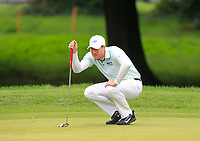 Wil Besseling (NED) on the 1st green during Round 1 of the Bridgestone Challenge 2017 at the Luton Hoo Hotel Golf &amp; Spa, Luton, Bedfordshire, England. 07/09/2017<br /> Picture: Golffile | Thos Caffrey<br /> <br /> <br /> All photo usage must carry mandatory copyright credit     (&copy; Golffile | Thos Caffrey)