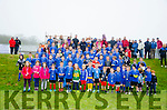 KIDS BLITZ THROUGH THE RAIN: Despite the inclement start to the big soccer day at the Internazionale Kenmare grounds over 90+ kids turned up for morning soccer blitz.