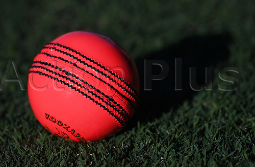 20th March 2018, Eden Park, Auckland, New Zealand;  Pink Ball.<br />