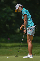 In Gee Chun (KOR) watches her putt on 1 during round 1 of the U.S. Women's Open Championship, Shoal Creek Country Club, at Birmingham, Alabama, USA. 5/31/2018.<br /> Picture: Golffile | Ken Murray<br /> <br /> All photo usage must carry mandatory copyright credit (&copy; Golffile | Ken Murray)