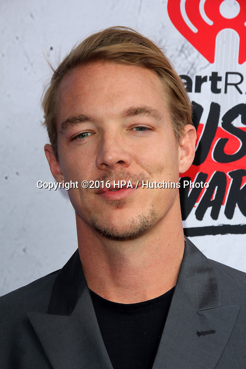 LOS ANGELES - APR 3:  Diplo at the iHeart Radio Music Awards 2016 Arrivals at the The Forum on April 3, 2016 in Inglewood, CA