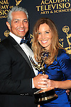 LOS ANGELES - APR 24: Jairo Lizarazu, Karan Lizarazu at The 42nd Daytime Creative Arts Emmy Awards Gala at the Universal Hilton Hotel on April 24, 2015 in Los Angeles, California