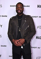 """WEST HOLLYWOOD - FEBRUARY 15: Dwayne Wade arrives for the LA screening of Fox Sports """"Shot in the Dark"""" at the Pacific Design Center on February 15, 2018 in West Hollywood, California.(Photo by Frank Micelotta/Fox/PictureGroup)"""