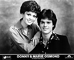 Donny & Marie Osmond on Polydor<br /> photo from promoarchive.com/ Photofeatures