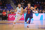 League ACB-ENDESA 2017/2018 - Game: 27.<br /> FC Barcelona Lassa vs Real Betis Energia Plus: 121-56.<br /> Josep Franch vs Thomas Heurtel.