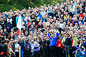 Tiger Woods of the USA Team duffs his chip to the 18th green during Session 2 Foursomes of the 2010 Ryder Cup Matches played over the Twenty Ten Course, The Celtic Manor Resort on 2nd October 2010 in the City of Newport, Wales......