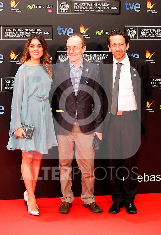 Adriana Ugarte posses in the photocall of the 61 San Sebastian Film Festival, in San Sebastian, Spain. September 20, 2013. (ALTERPHOTOS/Victor Blanco)