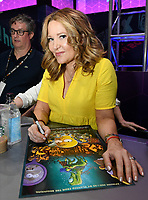 FOX FAN FAIR AT SAN DIEGO COMIC-CON© 2019: THE SIMPSONS Executive Producer Stephanie Gillis during the THE SIMPSONS booth signing on Saturday, July 20 at the FOX FAN FAIR AT SAN DIEGO COMIC-CON© 2019. CR: Alan Hess/FOX © 2019 FOX MEDIA LLC