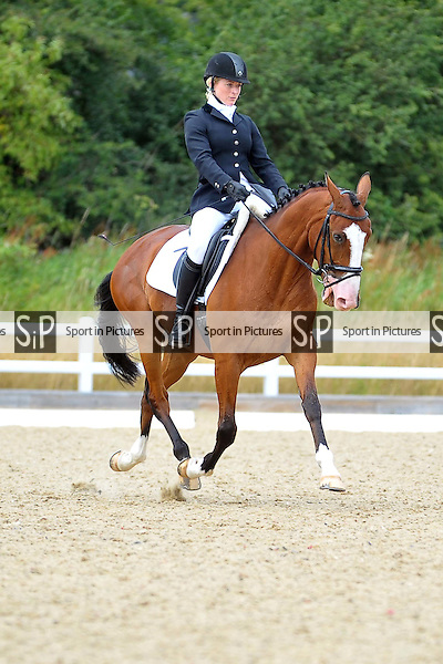 Class 4. British Dressage. Brook Farm Training Centre. Essex. 19/07/2015. MANDATORY Credit Ellie Ingram/Sportinpictures - NO UNAUTHORISED USE - 07837 394578