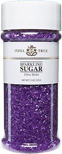 10209 Ultra Violet Sparkling Sugar, Tall Jar 7.5 oz