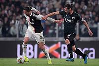 Adrien Rabiot of Juventus , Andrea Poli of Bologna FC <br /> Torino 19/10/2019 Allianz Stadium <br /> Football Serie A 2019/2020 <br /> Juventus FC - Bologna <br /> Photo Federico Tardito / Insidefoto