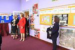 The President Mary McAleese visiting St Patricks N.S. in Slane co Meath..Picture Fran Caffrey/Newsfile.ie
