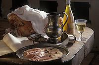 """Europe/France/89/Bourgogne/Yonne/Chablis: Jambon à la crême - recette de M. Bergeraud de l'Hôtel de l'étoile"""""""