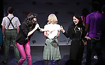Lena Hall introduces Stephanie D'Abruzzo and cast  from 'Academia Nuts'<br /> at a special preview of the 2014 New York Musical Theatre Festival (NYMF) at Ford Foundation Studio Theatre in The Pershing Square Signature Center on July 2, 2014 in New York City.