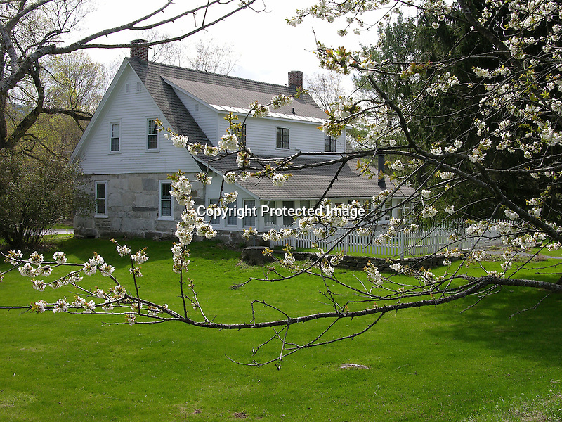 Poet Robert Frost Home in Vermont, New England, USA