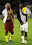 Fudbal, Champions league,Group H season 2010/2011.Partizan Vs. Arsenal.Alex Song, left and Pierre Boya, right.Beograd, 29.09.2010..foto: Srdjan Stevanovic/Starsportphoto ©