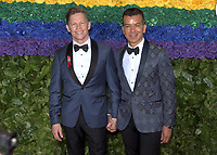 NEW YORK, NEW YORK - JUNE 09: Jack Noseworthy, Sergio Trujillo attend the 73rd Annual Tony Awards at Radio City Music Hall on June 09, 2019 in New York City. <br /> CAP/MPI/IS/JS<br /> ©JSIS/MPI/Capital Pictures