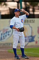 May 7 2010: Jeffrey Beliveau (50) of the Daytona Cubs during a game vs. the Clearwater Threshers at Jackie Robinson Ballpark in Daytona Beach, Florida. Daytona, the Florida State League High-A affiliate of the Chicago Cubs, lost the game against Clearwater, affiliate of the Philadelphia Phillies, by the score of 8-3.  Photo By Scott Jontes/Four Seam Images