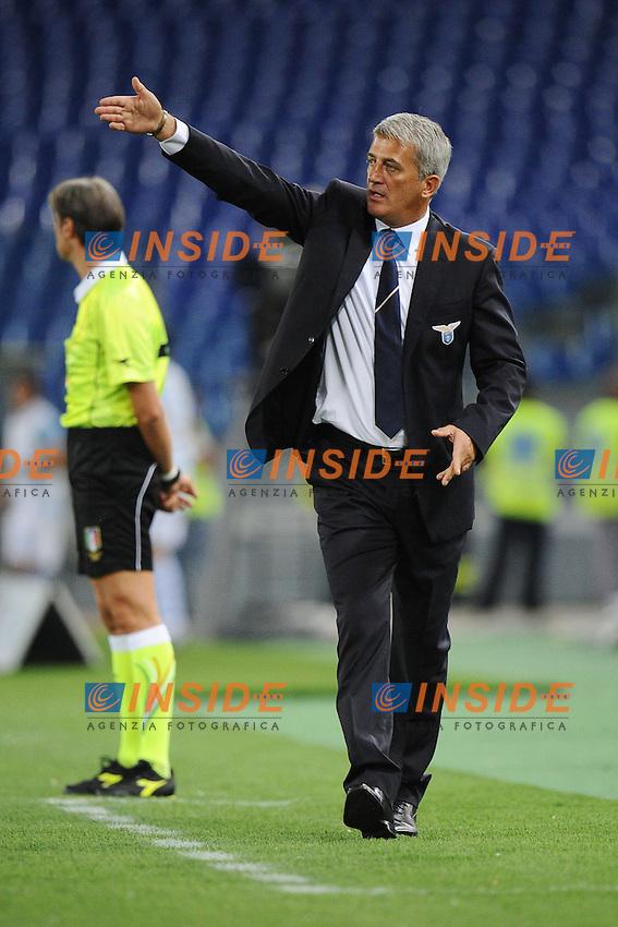 Vladimir Petkovic, allenatore della Lazio.23/09/2012 Roma.Stadio Olimpico.Football Calcio 2012 / 2013 .Campionato di Calcio Serie A.Lazio vs Genoa.Foto Insidefoto / Antonietta Baldassarre.