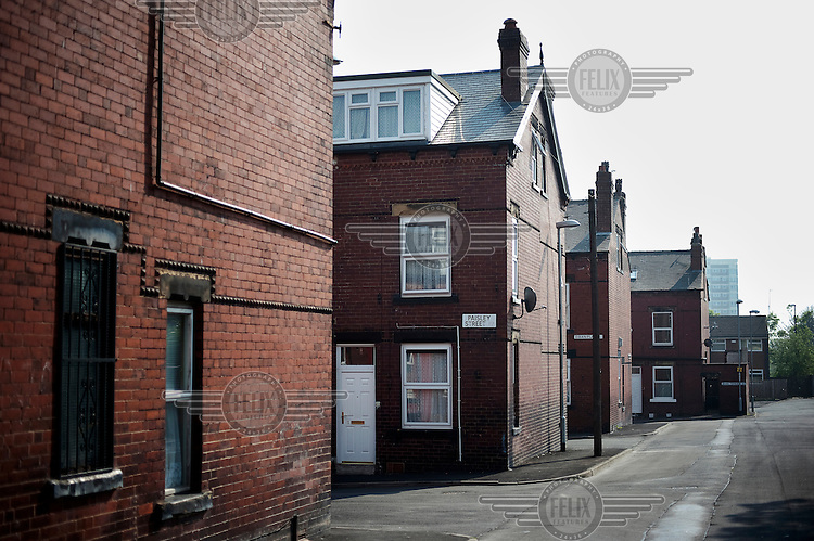 The house in Leeds where Antonio lived with his father Manuel, who committed suicide so his son wouldn't have to be deported back to Angola. The police raided this address when they attempted to deport the family.