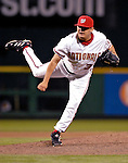 16 May 2007: Washington Nationals pitcher Chad Cordero on the mound against the Atlanta Braves at RFK Stadium in Washington, DC. The Nationals rallied to defeat the Braves 6-4 to take a 2-1 lead in their four-game series...Mandatory Photo Credit: Ed Wolfstein Photo