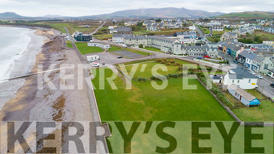 The site of the proposed new car park extinction in Waterville.