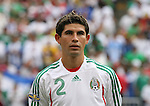 10 June 2007: Mexico's Jose Jonny Magallon. The Honduras Men's National Team defeated the National Team of Mexico 2-1 at Giants Stadium in East Rutherford, New Jersey in a first round game in the 2007 CONCACAF Gold Cup.