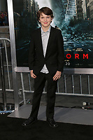 LOS ANGELES - OCT 16:  Gabriel Bateman at the Geostorm Premiere at the TCL Chinese Theater IMAX on October 16, 2017 in Los Angeles, CA