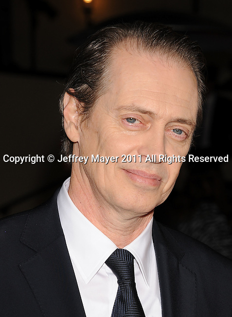 HOLLYWOOD, CA - January 29: Steve Buscemi arrives at the 63rd Annual DGA Awards held at the Grand Ballroom at Hollywood & Highland Center on January 29, 2011 in Hollywood, California.