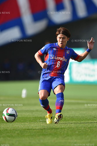 Kosuke Ota (FC Tokyo), APRIL 18, 2015 - Football /Soccer : 2015 J1 League 1st stage match between F.C. Tokyo 1-2 Sanfrecce Hiroshima at Ajinomoto Stadium in Tokyo, Japan. (Photo by AFLO)