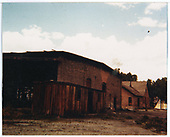Roundhouse and office storage building at Ridgway.<br /> RGS  Ridgway, CO