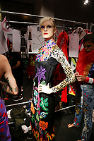 Discount Universe<br /> backstage at New York Fashion Week<br /> Spring Summer 2019<br /> in New York, USA September 2018.<br /> CAP/GOL<br /> &copy;GOL/Capital Pictures