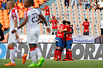 Independiente Medellín igualó 2-2 ante Once Caldas. Fecha 7 Liga Águila II-2018.