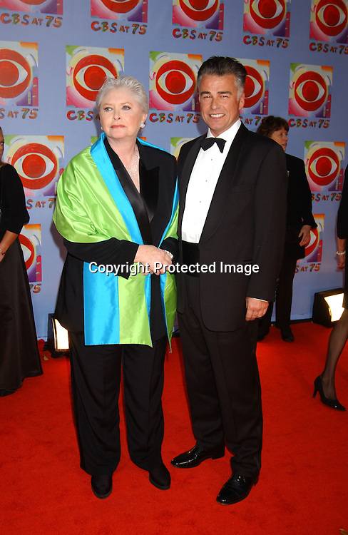 ..Susan Flannery and Ian Buchanan..at CBS's 75th Anniversary at The Hammerstein Ballroom in ..New York City on November 2, 2003. Photo by Robin Platzer, Twin Images
