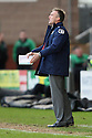 Crewe manager Steve Davis. Crewe Alexandra v Stevenage - npower League 1 - The Alexandra Stadium, Gresty Road, Crewe - 5th January, 2013. © Kevin Coleman 2013.
