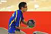 Cole Uganiza of Kellenberg rolls a frame during the NYSCHSAA boys bowling individual championship at AMF Babylon Lanes on Saturday, Mar. 5, 2016. He rolled a four-game series of 915. As the top finisher (third place) in the tournament, he qualified for a five-person step ladder format playoff in which he took fourth.