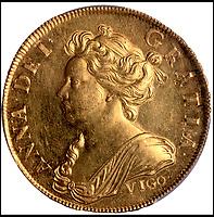 £845,000 - Record price for British 'Vigo' gold coin.