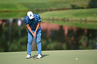 Mikumu Horikawa (JPN) sinks his putt on 9 during round 3 of the WGC FedEx St. Jude Invitational, TPC Southwind, Memphis, Tennessee, USA. 7/27/2019.<br /> Picture Ken Murray / Golffile.ie<br /> <br /> All photo usage must carry mandatory copyright credit (© Golffile | Ken Murray)