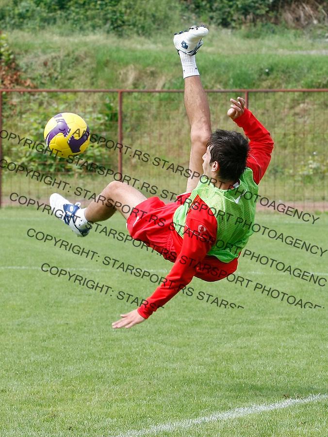 Fudbal.FK Crvena Zvezda, pripreme za sezonu 2009/2010.Dejan Lekic.Ivanjica, 29.06.2009..foto: Srdjan Stevanovic/Starsportphoto.com