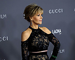 Jane Fonda attending the LACMA ART and FLIM Gala 2017 honoring Mark Bradford and George Lucas. held at the LACMA in Los Angeles, CA. on November 4, 2017