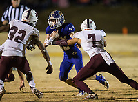 NWA Democrat-Gazette/BEN GOFF @NWABENGOFF<br /> Prescott vs Booneville Saturday, Dec. 1, 2018, during the class 3A state semifinal game at Bearcat Stadium in Booneville.