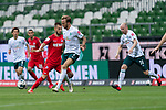Kevin Vogt (Werder Bremen  #03) Davy Klaassen (Werder Bremen #30), Dominick Drexler (FC Koeln #24)<br /> <br /> <br /> Sport: nphgm001: Fussball: 1. Bundesliga: Saison 19/20: 34. Spieltag: SV Werder Bremen vs 1.FC Koeln  27.06.2020<br /> <br /> Foto: gumzmedia/nordphoto/POOL <br /> <br /> DFL regulations prohibit any use of photographs as image sequences and/or quasi-video.<br /> EDITORIAL USE ONLY<br /> National and international News-Agencies OUT.