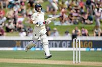 1st December 2019, Hamilton, New Zealand;  Rory Burns scores 100 runs.<br /> International test match cricket, New Zealand versus England at Seddon Park, Hamilton, New Zealand. Sunday 1 December 2019.